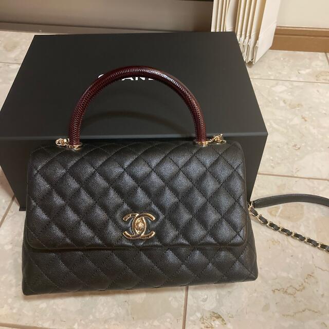 CHANEL(シャネル)のCHANELココハンドル レディースのバッグ(ハンドバッグ)の商品写真