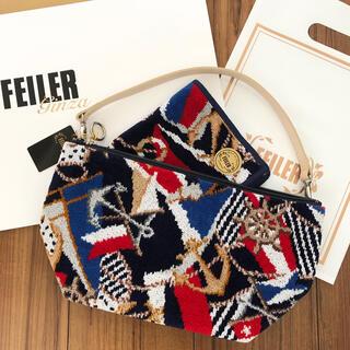 フェイラー(FEILER)のFEILER 新品ポーチバッグ&ハンカチ(ハンドバッグ)