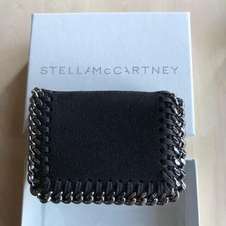 Stella McCartney - 新品 ステラマッカットニー 三つ折り ミニ財布 ウォレット 黒 ファラベラ