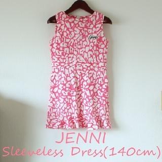 JENNI - 【美品】JENNI  ノースリーブワンピース 140cm