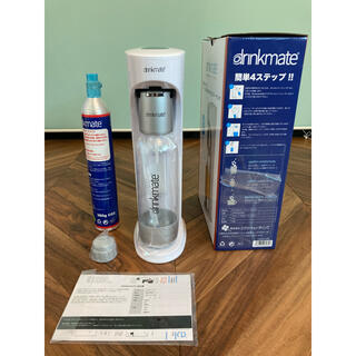スターターセット drinkmate 家庭用炭酸水メーカー