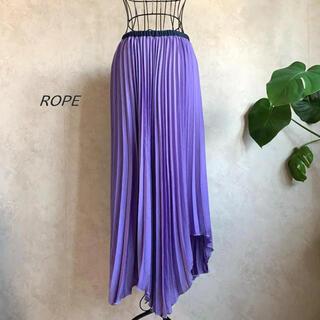 ROPE - 【美品】ROPE ロペ プリーツアシメスカート