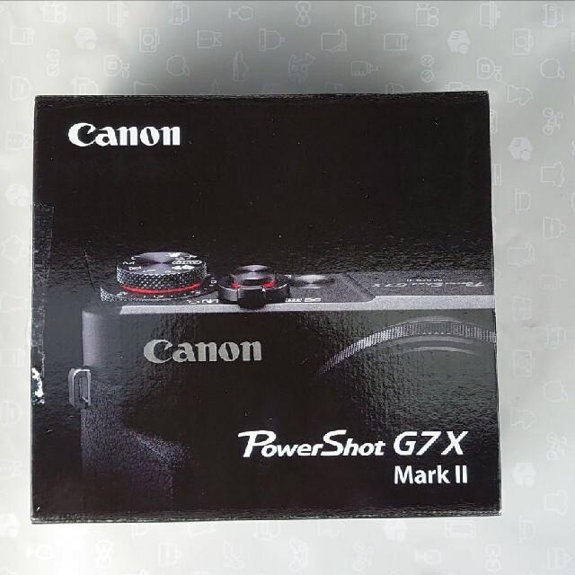 Canon PowerShot G POWERSHOT G7 X MARK 2 スマホ/家電/カメラのカメラ(コンパクトデジタルカメラ)の商品写真
