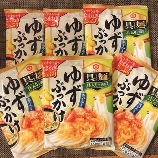 キッコーマン(キッコーマン)のキッコーマン食品 具麺 ゆずぶっかけ 120g ×6袋  12食分(レトルト食品)