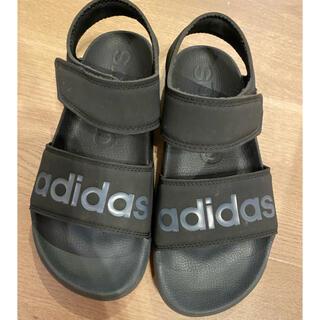adidas - アディダスサンダルブラック23.5センチ