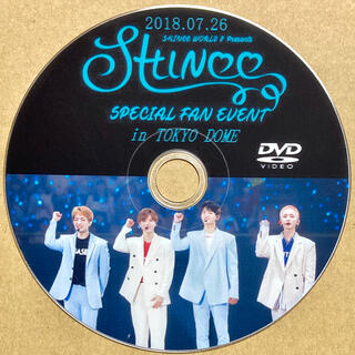 SHINee - SHINee SPECIAL FAN EVENT 2018 東京ドーム DVD