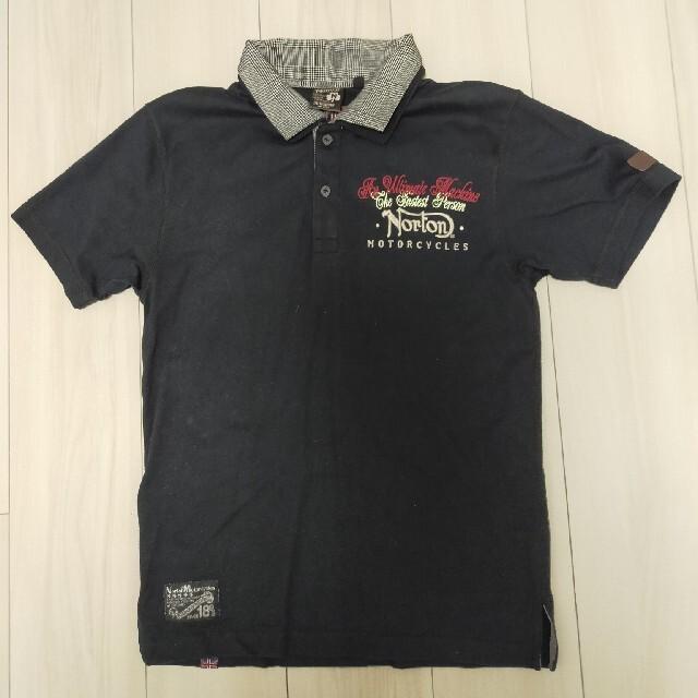 Norton(ノートン)のNorton ノートン 刺繍プリント 半袖ポロシャツ メンズのトップス(ポロシャツ)の商品写真