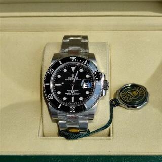 ROLEX - ☆美品 ロレックス 腕時計 Rolex Submariner Black N 級