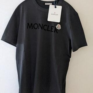 MONCLER - 【新品正規品】 Moncler ロゴパッチ レタリング Tシャツ