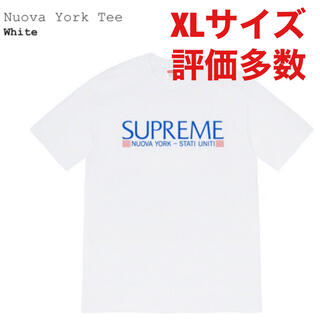 Supreme - Supreme nuova york tee 白 XLサイズ