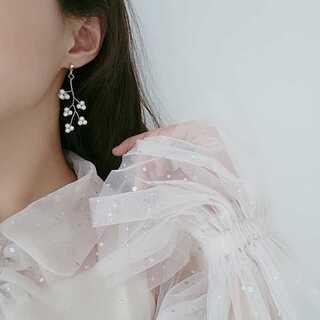 アメリヴィンテージ(Ameri VINTAGE)の#954 import pierce : pearl tree gold(ピアス)