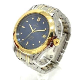 オメガ(OMEGA)の美品 オメガ 2301.80. シーマスター 120m クロノメーター デイト(腕時計(アナログ))