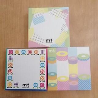 エムティー(mt)のmt・メモ帳・非売品(ノベルティグッズ)
