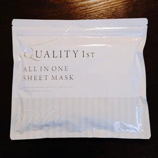 クオリティファースト(QUALITY FIRST)のクオリティファースト オールインワンシートマスク(パック/フェイスマスク)