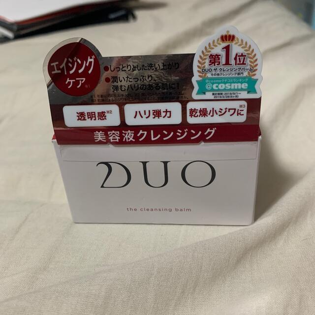 DUO クレンジングバーム 新品未使用 コスメ/美容のスキンケア/基礎化粧品(クレンジング/メイク落とし)の商品写真