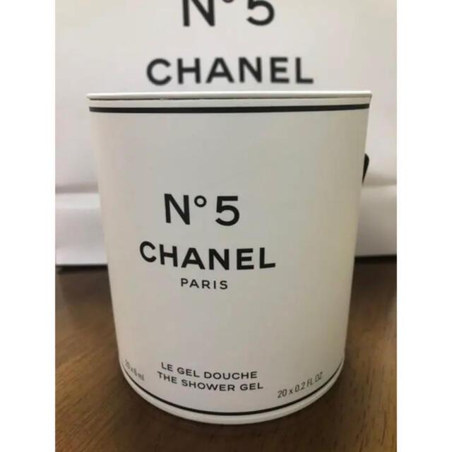 CHANEL(シャネル)のシャネル ファクトリー 5 コレクシオン ザ シャワー ジェル N°5香水おまけ コスメ/美容のボディケア(ボディローション/ミルク)の商品写真