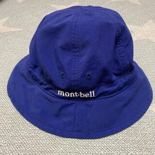 mont bell - モンベル キッズ ハット 帽子