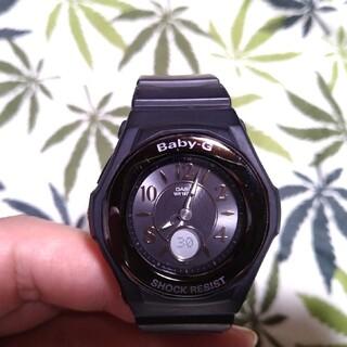 ベビージー(Baby-G)の電波ソーラー 腕時計 CASIO Baby-G bga-1050b ブラック(腕時計)