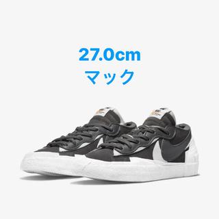 NIKE - NIKE sacai blazer low iron grey 27.0cm