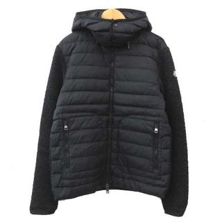 MONCLER - モンクレール 16AW maglia cardigan ダウンジャケット L 黒