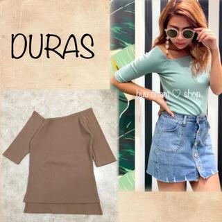 DURAS - DURAS♡ワンショルダートップス