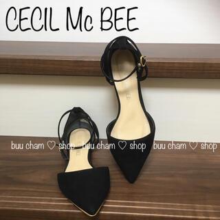 CECIL McBEE - CECIL Mc BEE♡パンプス  フラットパンプス ぺたんこ ストラップ