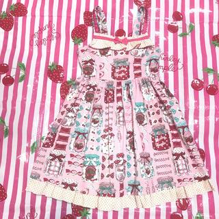 Shirley Temple - シャーリーテンプル ☆キャンディポット JSK 110 ピンク