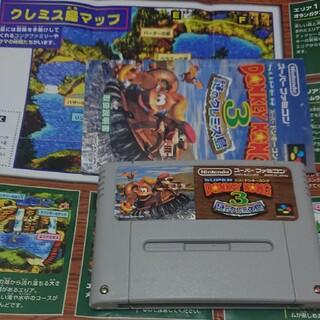 スーパーファミコン(スーパーファミコン)のドンキーコング3(家庭用ゲームソフト)