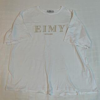 エイミーイストワール(eimy istoire)のエイミー♡スタッズTシャツ(Tシャツ(半袖/袖なし))