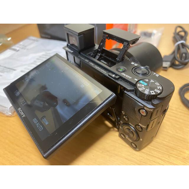 SONY(ソニー)のSONY RX100IV(DSC-RX100M4) +新品バッテリー スマホ/家電/カメラのカメラ(コンパクトデジタルカメラ)の商品写真