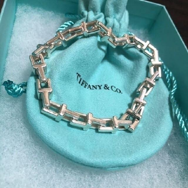 Tiffany & Co.(ティファニー)のティファニーT チェーンブレスレット レディースのアクセサリー(ブレスレット/バングル)の商品写真