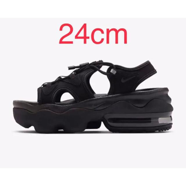 NIKE(ナイキ)の最終値下げ NIKE ナイキ 24 エアマックスココ  ブラック  黒 レディースの靴/シューズ(サンダル)の商品写真