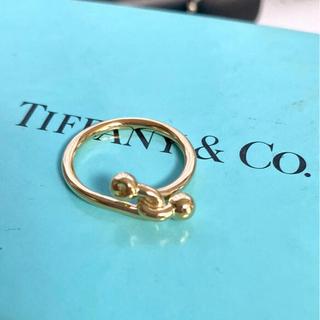 Tiffany & Co. - Tiffany 750YG リング 10号 ✨新品磨き済み✨美品
