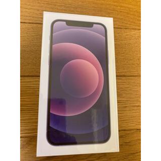 Apple - iPhone12 64GB パープル 未開封商品❗️