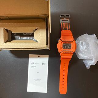 エヌハリウッド(N.HOOLYWOOD)のエヌハリウッド×Gショック DW5600オレンジ 新品(腕時計(デジタル))