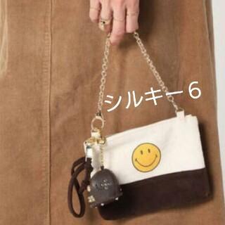 ドゥーズィエムクラス(DEUXIEME CLASSE)の【GOOD GRIEF/グッドグリーフ】 SMILE 2トーンポーチブラウン(ポーチ)