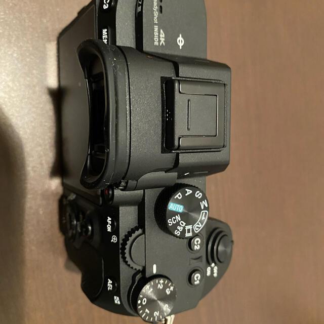SONY(ソニー)の【美品】SONY α7ⅲ スマホ/家電/カメラのカメラ(ミラーレス一眼)の商品写真