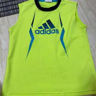 adidas - adidas アディダス 蛍光黄色 ノースリーブ 140cm