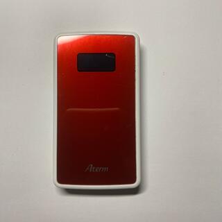 エヌイーシー(NEC)の【中古】NEC Aterm モバイルルーター PA-MP02LN-RM(PC周辺機器)