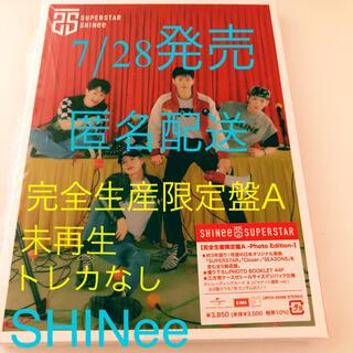 SHINee - SHINee  SUPERSTAR  完全生産限定盤A トレカなし