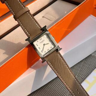 エルメス(Hermes)のHERMES    腕時計 《Hウォッチ》    21×21 mm(腕時計)