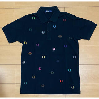 FRED PERRY - FRED PERRY × BEAMS ポロシャツ ブラック フレッドペリー