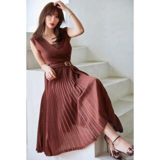 Herlipto Twinkle Pleated Knit Dress