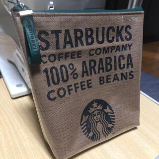 ハンドメイド スタバ ポーチ Starbucks