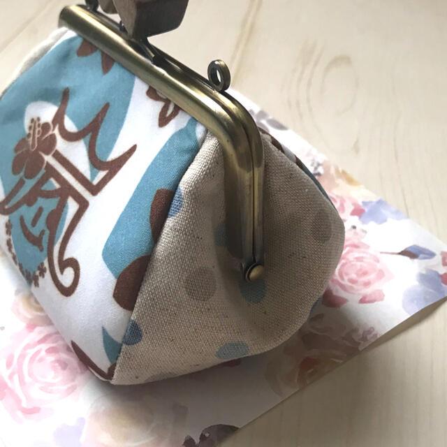 【商品説明熟読お願い致します】10㎝角型ポーチ・ハワイトート ハンドメイドのファッション小物(ポーチ)の商品写真