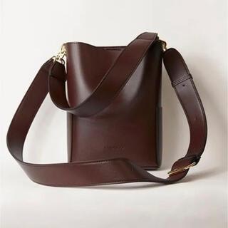 snidel - RANDEBOO RB petit bucket bag(dark brown)