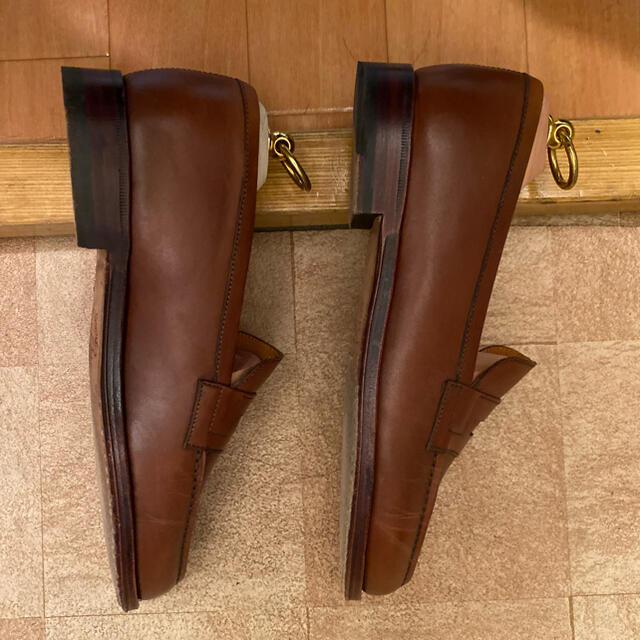 UNITED ARROWS(ユナイテッドアローズ)のジャランスリワヤ ローファー 6 ブラウン メンズの靴/シューズ(ドレス/ビジネス)の商品写真