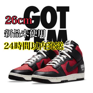 NIKE - Nike × UNDERCOVER DUNK HIGH Gym Red