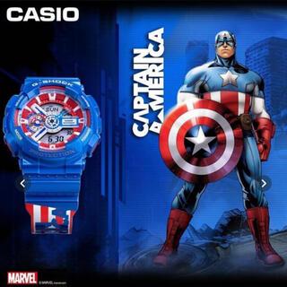 G-SHOCK - 【激レア商品】G-SHOCK&キャプテンアメリカコラボ 腕時計 GA-110GB
