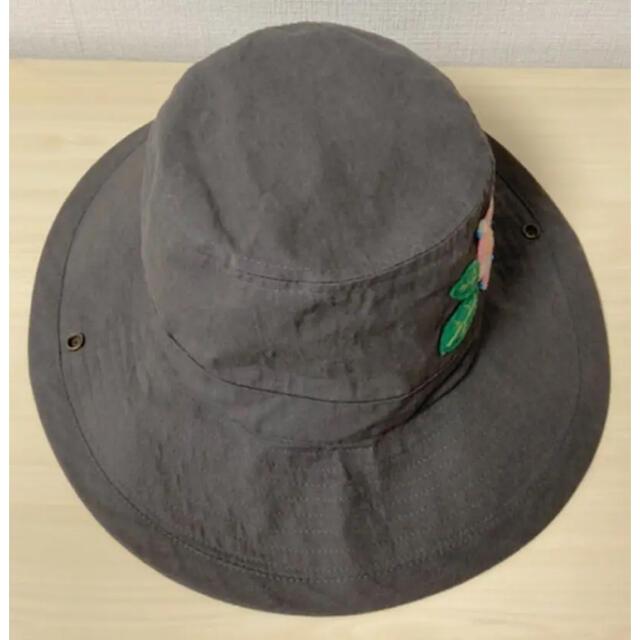 rough(ラフ)のお値下げ♡  rough 刺繍 2way ハット グレー レディースの帽子(ハット)の商品写真